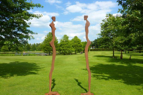 Galerie en tuin Beelden in Gees