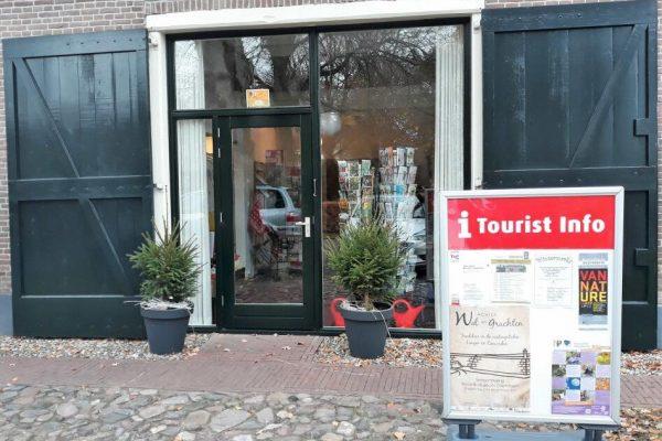 Tourist Info Punt (TIP) op andere locatie