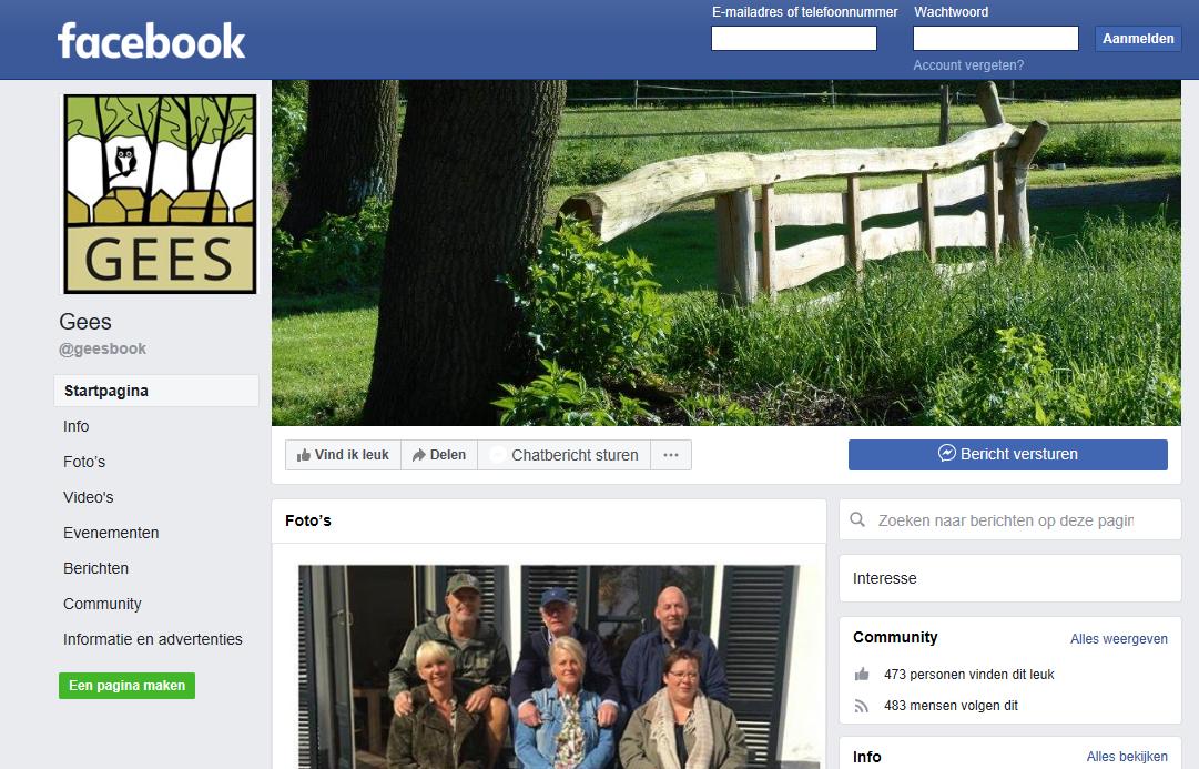 pagina-geesbook