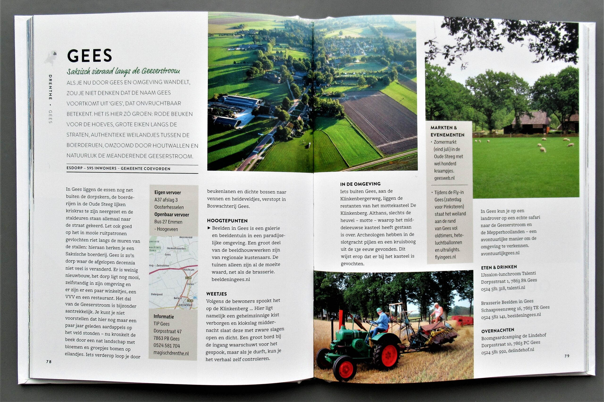 artikel over Gees in boek allermooiste dorp