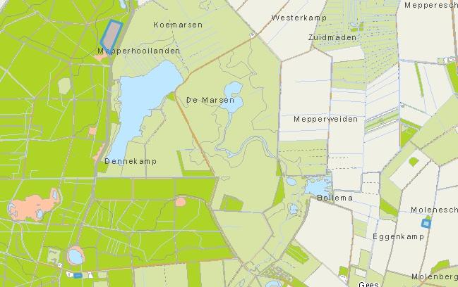 plantlocatie Geeserbos