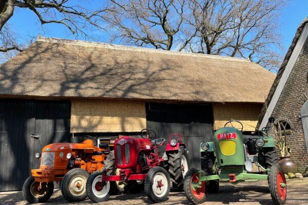 Nieuw! Een oldtimer tractor huren