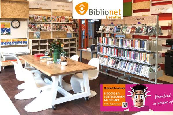 Bibliotheek na corona weer open